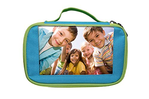 Adventa APC46-BE Back to School, lápices, Estuche, niños, papelería, Azul