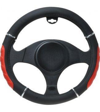 nissan-armada-coprivolante-sterzo-bicolore-nero-rosso-e-cromo-per-volante