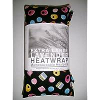 Wheat Bag con forno a microonde, colore: lavanda, taglia XL, colore: liquirizia ALLORTS PATTERN