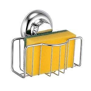MaxHold Sistema de vacío – Toalleros de aro – Acero Inoxidable – Almacenamiento de la Cocina&baño