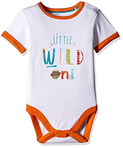 Mothercare Baby Boys' Bodysuit (H6368_White_6-9 M)