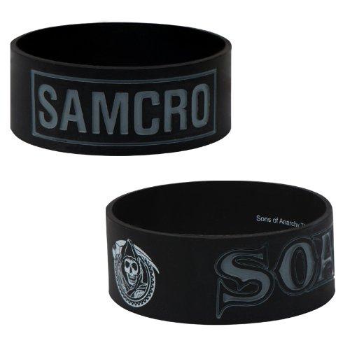 Sons of Anarchy SAMCRO Kautschuk-Silikon-Armband