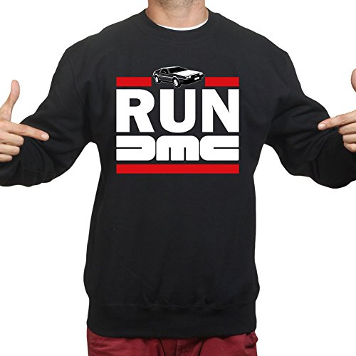 (RUN DMC Delorean Car Time Machine Pullover)