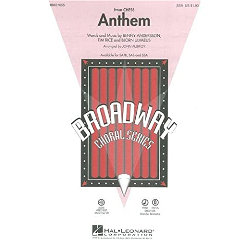 Josh Groban: Anthem (Chess) - SSA. Sheet Music for SSA,
