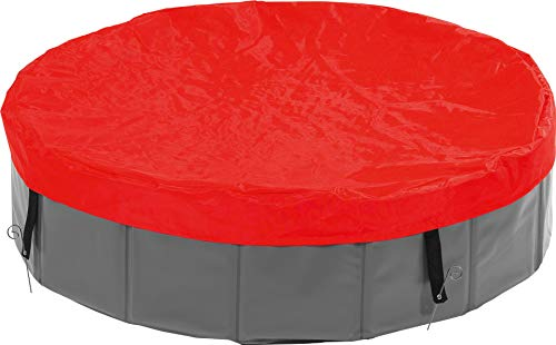 Karlie Doggy Pool Cover, Diameter 160 cm, rot