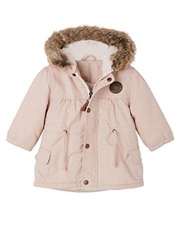Vertbaudet Wattierte Mädchen-Winterjacke ROSA 68