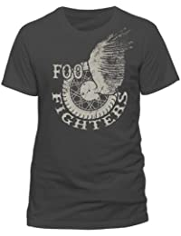 Foo Fighters Winged Wheel Charcoal Heather T-Shirt | M