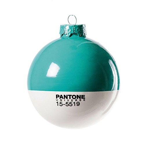 "PANTONE Weihnachtskugel Türkis ""15-5519 Turquoise"""