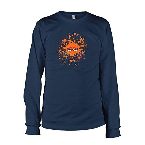 TEXLAB - Evil Splash - Herren Langarm T-Shirt, Größe XXL, (Kostüm Jason's Freundin)