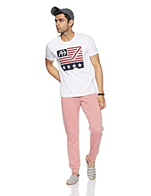 Arrow Sports Men's Printed Regular Fit T-Shirt