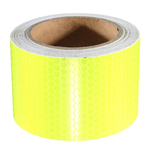 KING DO WAY 5M*50mm Reliable High Intensity Reflective Safety Tape Vinyl Roll Self-Adhesive White