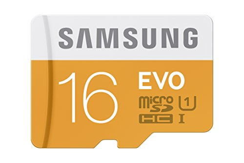 Samsung EVO 16GB Class 10 Micro SDHC Memory Card with Adapter (MB-MP16DA/AM)