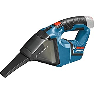 Bosch GAS 10,8 V-LI Professional 0.601.9E3.000 Akku-Staubsauger (Solo Version, 10.8 Volt, 0,35 l) Blau