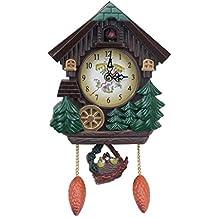 Homyl Reloj de Pared Despertador Apesso Accesorios de Decoración de Habitación ...