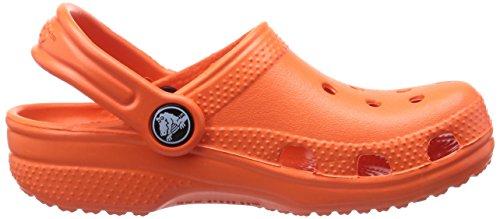 Crocs Classic Kids 1006, Sabot Unisex – Bambini Rosso (Tangerine)