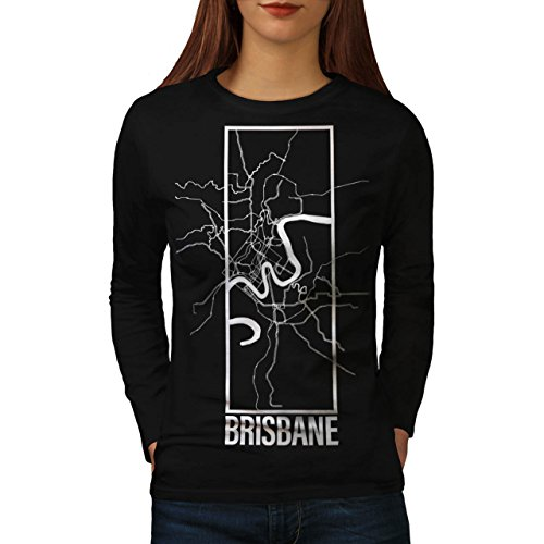 australia-brisbane-big-town-map-women-new-black-m-long-sleeve-t-shirt-wellcoda