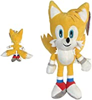 "Sonic - Peluche Tails Miles Prower 13""/33cm Color Amarillo Calidad Super"