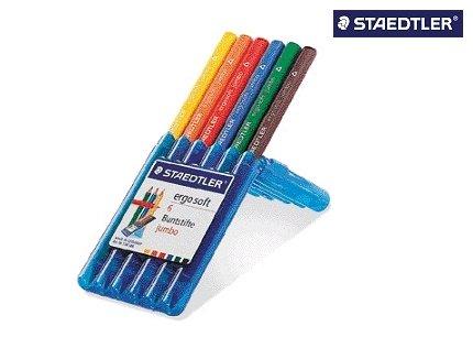 Staedler 158SB6 Farbst Ergo Soft Jumbo