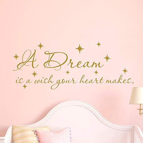 Quote Cinderella Nursery Decor Vinyll Wall Decal Home Decor