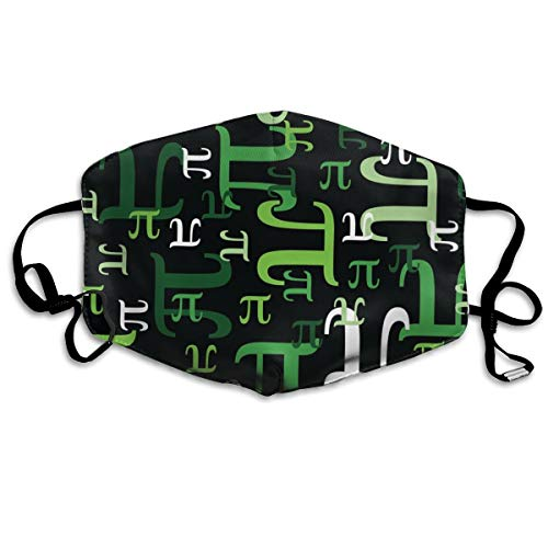 (Pieces Of Pi (Green) Anti Dust Mask Anti Pollution Washable Reusable Mouth Masks)