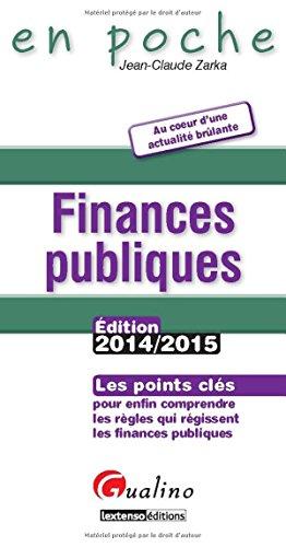 Finances publiques 2014-2015