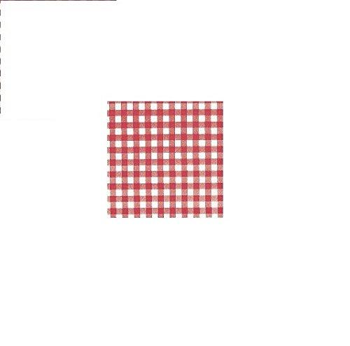 Tork 478546 Bistrored Lunchservietten 1-lagig / Papierservietten in Rot/Weiß / Vielseitig verwendbar / Universal Qualität / 9 x 500 (4500) Lunch Servietten / 32 x 33 cm (B x L)