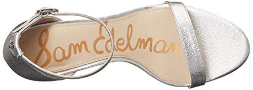Sam EdelmanPatti - Scarpe col Tacco Donna Soft Silver/Metallic Leather