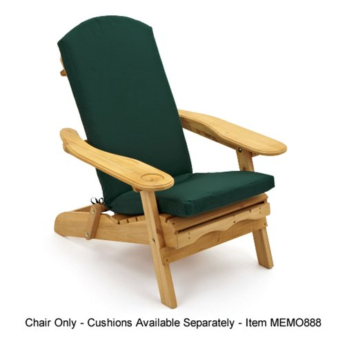 Adirondack Garden Lounger Chair With Pull Out Leg Rest U201c ...