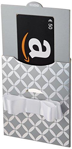 Amazon.de Geschenkkarte in Geschenkkuvert - 50 EUR (Silber)