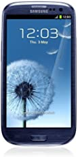 Samsung Galaxy S III i9300 Smartphone (4,8 Zoll (12,2 cm) Touch-Display, 16 GB Speicher, Android 4.0) pebble-blue