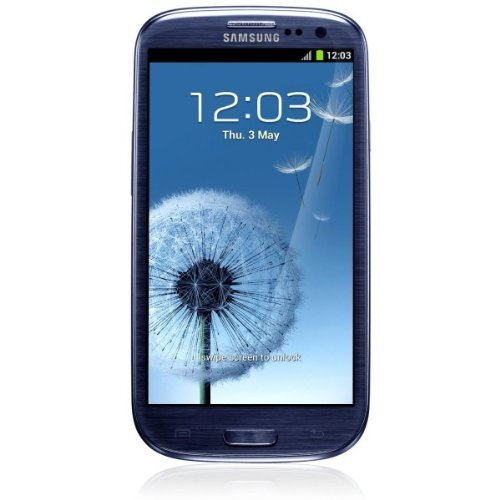 Samsung Galaxy S III i9300 Smartphone (4,8 Zoll (12,2 cm) Touch-Display, 16 GB Speicher, Android 4.0) pebble-blue S3 Handy