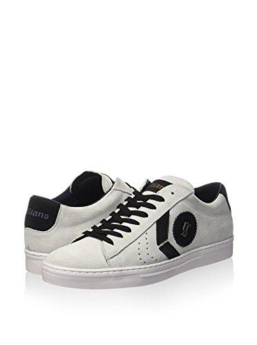 john-galliano-herren-sneaker-weiss