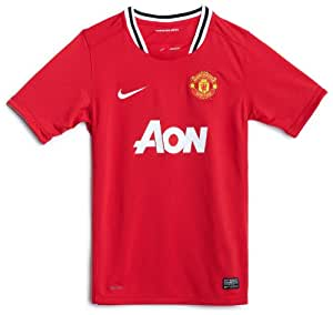 Manchester United 11/12 SS Home Kids Football Shirt - XSB