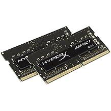 HyperX Impact - Memoria RAM de 8 GB DDR4 (2133 MHz, CL13, SODIMM 260-pin, 2 x 4 GB)