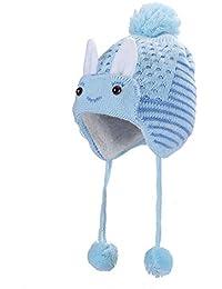 Cappello per bebè Orso carino Berretto con paraorecchie caldo per l autunno inverno  Carino bambina bambino neonato… fed23e39a013