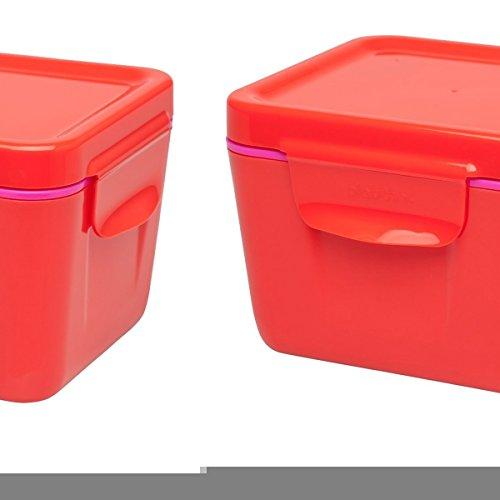 Aladdin 33394 Superfish Boîte Repas Isotherme 0,7 L – Boîtes de Rangement Plastique Alimentaire, de tomates