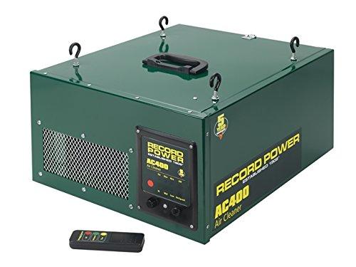 Record Power AC400Drei-Phasen-Luftfilter mit Fernbedienung. (Air-filter System)