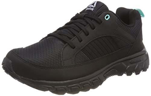 Reebok Damen DMX Ride Comfort 4.0 Fitnessschuhe, Schwarz (Black/Cloud Grey/Turquoise 000), 39 EU