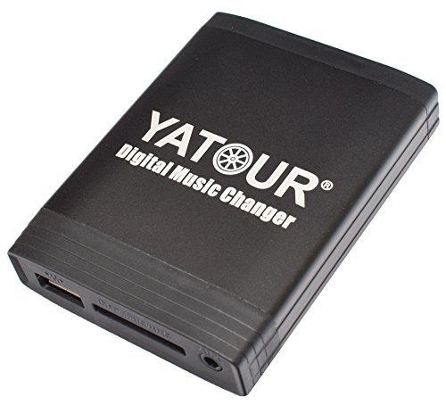 Yatour YTM06-VOLHU Interface Adaptateur autoradio MP3, USB SD AUX pour modèles de voiture Volvo C70 S40 S60 S80 V40 XC70