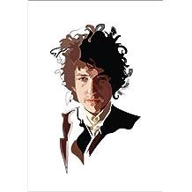 Póster 90 x 130 cm: Bob Dylan de Anna McKay - impresión artística de alta calidad, nuevo póster artístico