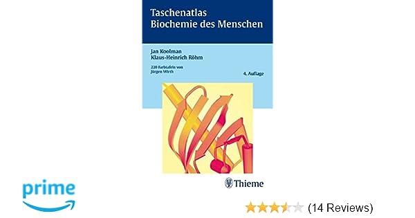 Taschenatlas Biochemie des Menschen - Jan Koolman, Klaus-Heinrich ...