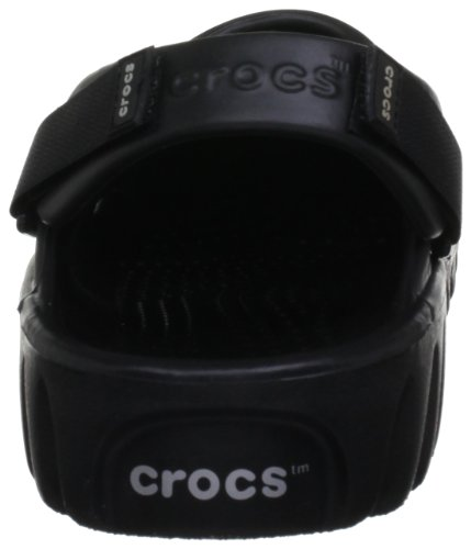 crocs  Off Road,  Sabot unisex adulto Nero (Black/Black)