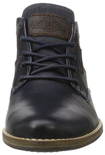 BULLBOXER Herren 773k56244a Kurzschaft Stiefel Blau (DINA)