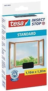 tesa insect stop standard fliegengitter f r fenster insektenschutz zuschneidbar m ckenschutz. Black Bedroom Furniture Sets. Home Design Ideas