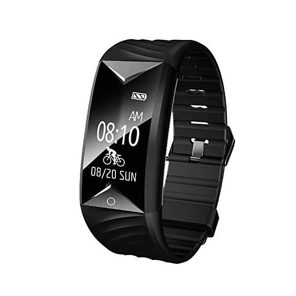 YAMAY Fitness Tracker HRActivity Tracker Watch With Heart Rate Monitor Waterproof IP67 Smartwatch Step Counter Pedometer Watch For Women Men Call SMS SNS Notification Push For IOS And Android Phone