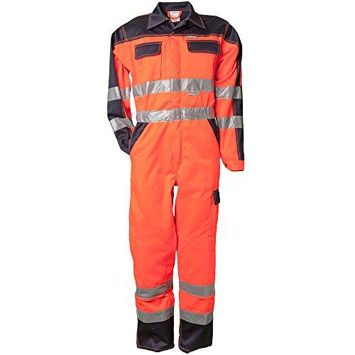 Planam Rallyekombi 'Warnschutz', Größe 56 in orange / marine, 1 Stück, 2036056