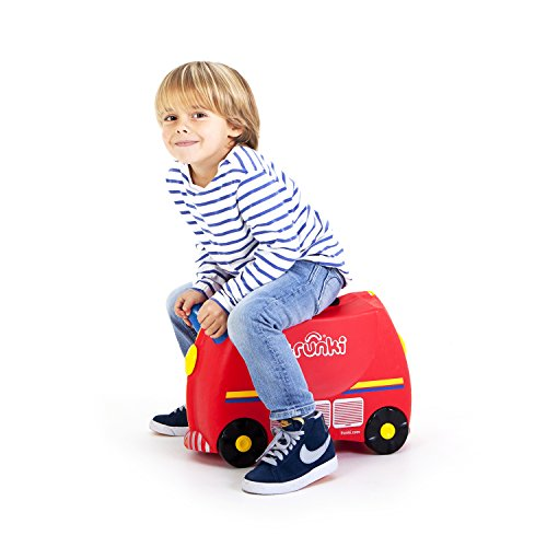 Trunki Koffer für Kinder Freddie Fire Engine - 2