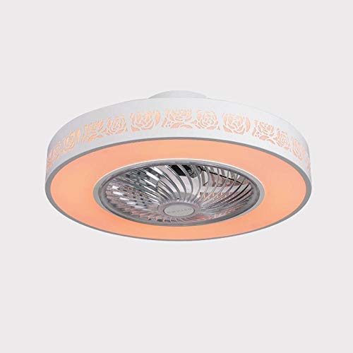Ventiladores Para El Techo Con Lámpara,Wifi Control Remoto Ventilador Luz Bluetooth Aplicación...