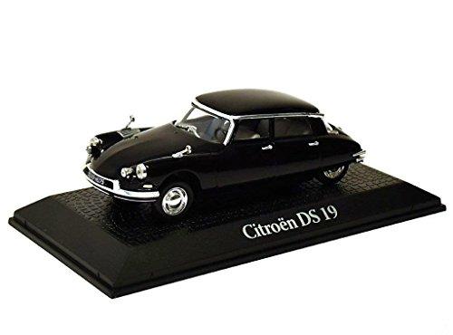Staatskarosse Frankreich 1962 Citroen DS 19 Charles de Gaulle Metall Miniaturmodelle Modellauto 1:43 Norev for Atlas