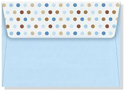 Thank You Notes Blue Dots
